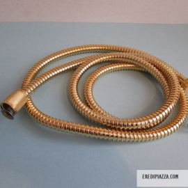 FLEXIBLE SHOWER BRASS GOLDEN CM 150