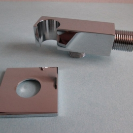 SQUARE WITH SHOWER WATER INTAKE SUPPORT