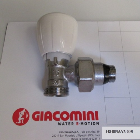 GIACOMINI TEAM THERMOSTATIZABABLE VALVE FOR R431TG 1 / 2X16
