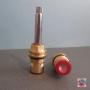 VITONI CERAMICI 90° 8x20 SX CON ASTA MM 45