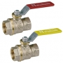 GIACOMINI BALL VALVE NUT LEVER RED FF 3/4