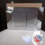 TECE NEW PLACCA DOPPIA CROMO LUCIDO 9240401