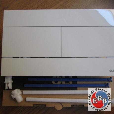 OLI PLATE MODEL SLIM WHITE ART. 659041