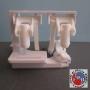 GEBERIT RICAMBIO SUPPORTO DUE TASTI ART. 240510 PER CASSETTA SPESSORE CM 12