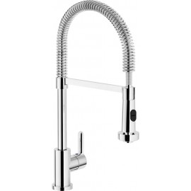 NOBILI KITCHEN MIXER SERIES ART ABC. AB87300CR WITH SPRING AND SHOWER