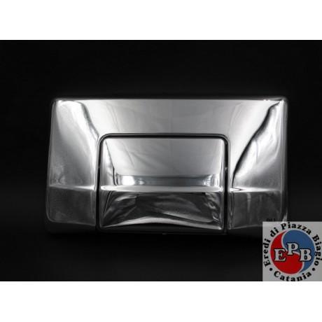 OLI SPARE DIAMOND PLATE CHROME mono-button JADE ART. 603004