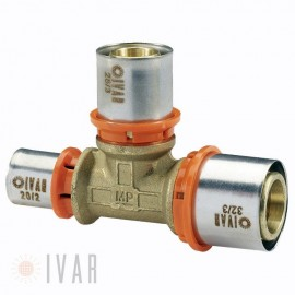 MULTIPURPOSE FITTING IVAR TEE REDOTTA 26X26X20