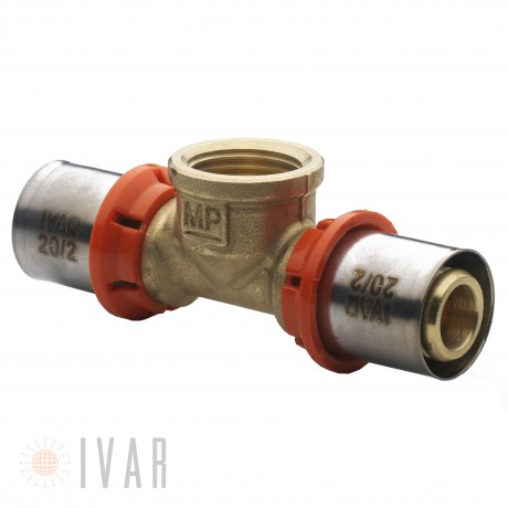 IVAR TEE 16X16X16 MULTIPACK FITTING