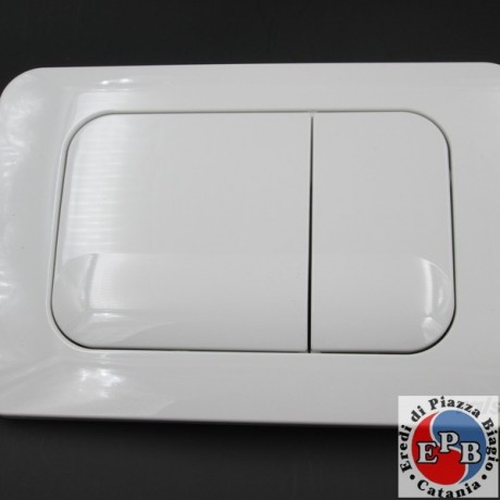 PLACCA VALSIR MODELLO TROPEA ART. 870501 BIANCA